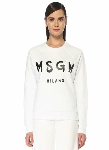 MSGM Sweatshirt Beyaz